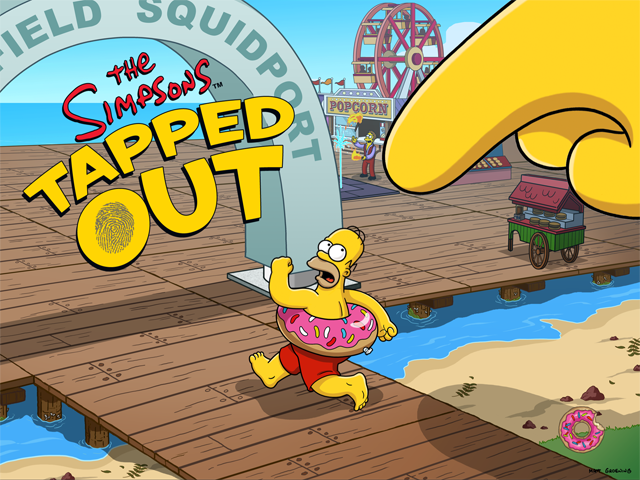 The Simpsons Tapped Out summer time 2013