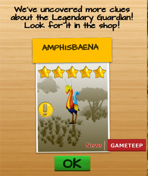 Wonder Zoo Animal & dinosaur rescue Legendary Guardian Amphisbaena