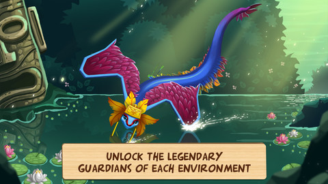 Wonder Zoo Animal & dinosaur rescue Legendary Guardian