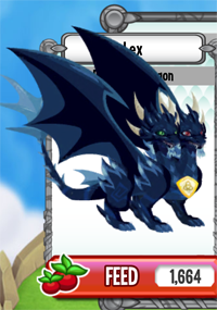 Dragon City Pure Dark Dragon