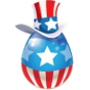 Dragon City Uncle Sam Dragon egg