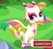 Dragon Story Rainbow Dragon Teen