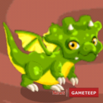 Dragon Story: Triceratops Dragon Joins Dragon's Isles