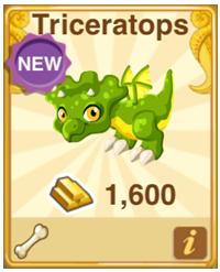 Dragon Story Triceratops Dragon