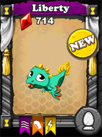 DragonVale Liberty Dragon