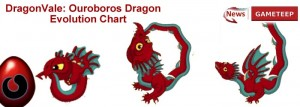 DragonVale Ouroboros Dragon Evolution Chartl