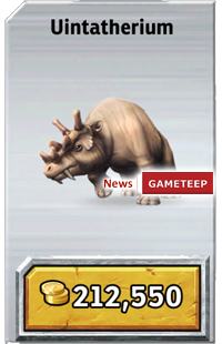 Jurassic Park Builder: Uintatherium   Gameteep