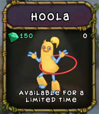 My Singing Monsters Hoola Monster