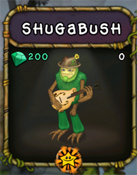 My Singing Monsters Shugabush Monster