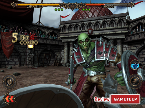 Rage Of The Gladiator Screenshot 3 Gameteep