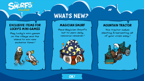 Smurfs Village Magician Smurf Update Screenshot 2