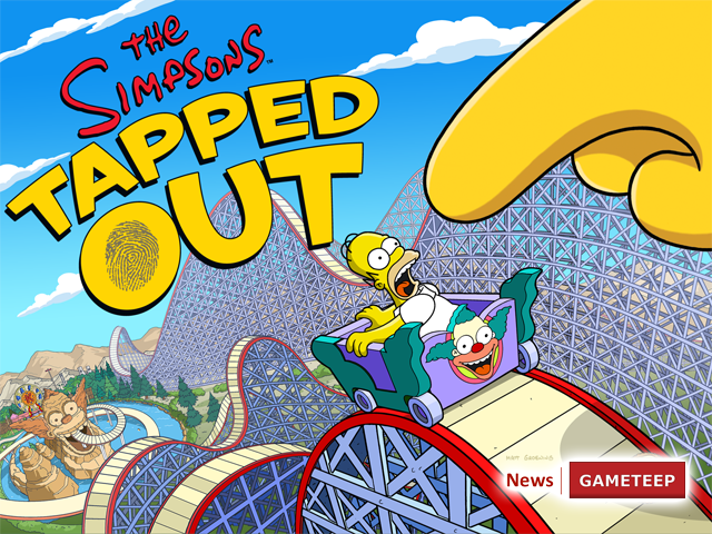 The Simpsons Tapped Out Krustyland Screen