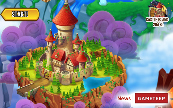 Dragon City Mobile Castle Island