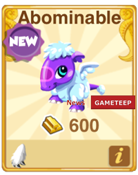Dragon Story Abominable Dragon