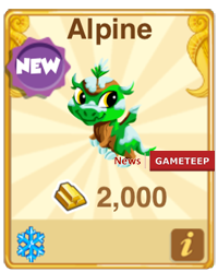 Dragon Story Alpine Dragon
