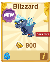 Dragon Story Blizzard Dragon
