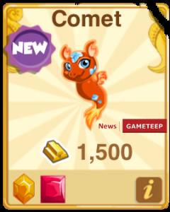 Dragon Story Comet Dragon