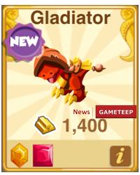Dragon Story Gladiator Dragon