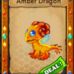DragonVale: Amber Dragon