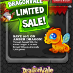 DragonVale: Amber Dragon is Now Available for breeding