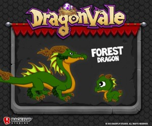 DragonVale Forest Dragon Official Image