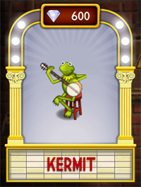 My Muppets Show Kermit Ship