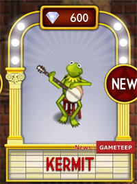 My Muppets Show Rooftop Kermit