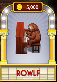 My Muppets Show Rowlf