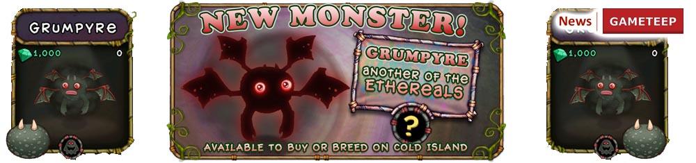 My Singing Monsters Grumpyre