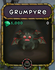 My Singing Monsters Grumpyre Monster