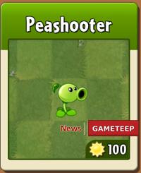 plants vs zombies 2 peashooter