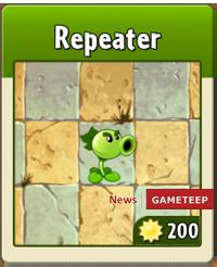 plants vs zombies 2 repeater gameteep