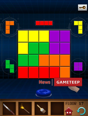 100 floors annex level 17 gameteep for 100 floor level 17 answers