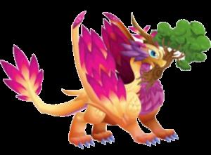 Dragon City Peace Dragon Adult