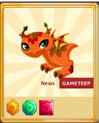 Dragon Story Falling Leaf Dragon