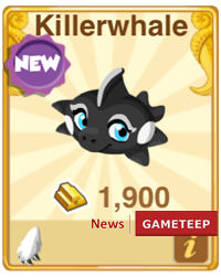 Dragon Story Killerwhale Dragon