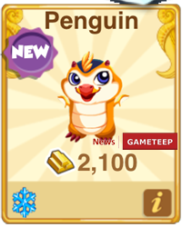 Dragon Story Penguin Dragon