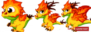 DragonVale Autumn Dragon Evolution Chart