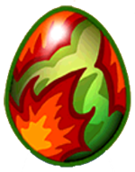 DragonVale Autumn Dragon egg