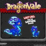 DragonVale: Last Call for Sapphire Dragon
