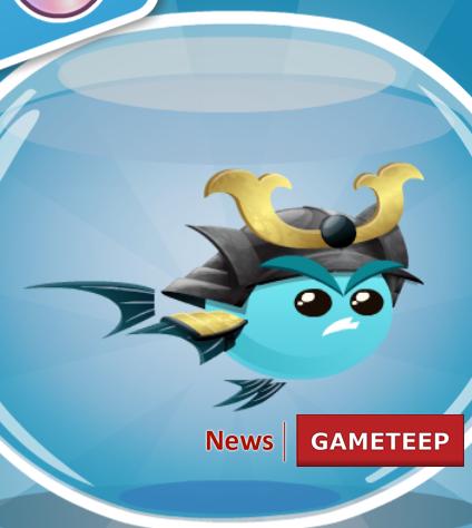 Fish With Attitude Samurai Fish Gameteep