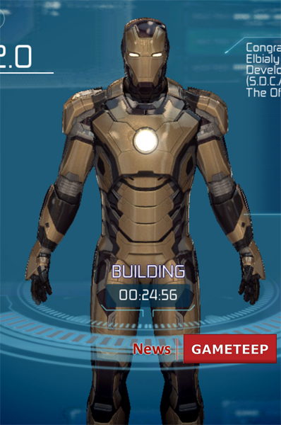 Iron Man 3 S.D.C.A