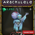 My Singing Monsters: Arackulele Monster