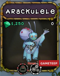 My Singing Monsters Arackulele