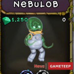 My Singing Monsters: Nebulob Monster
