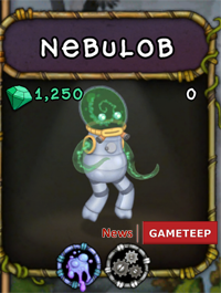 My Singing Monsters Nebulob