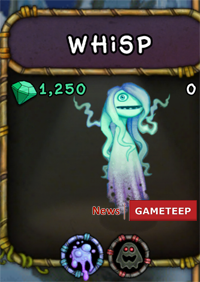 My Singing Monsters Whisp