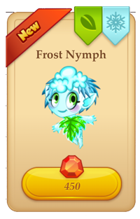 Tiny Castle Frost Nymph