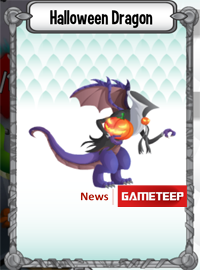 Dragon City Halloween Dragon