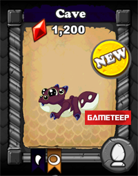 DragonVale Cave Dragon baby